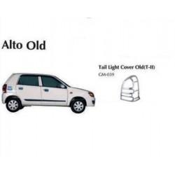 Maruti Alto Chrome Tail Light Cover-Type 2