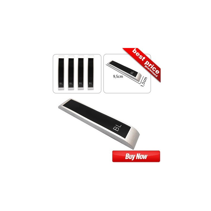 Buy Original Classic Silver-Black Label(BL) Door Guards at low prices-RideoFrenzy