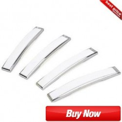 Buy Black Label (BL) White SlimLine Door Guards at low prices-RideoFrenzy