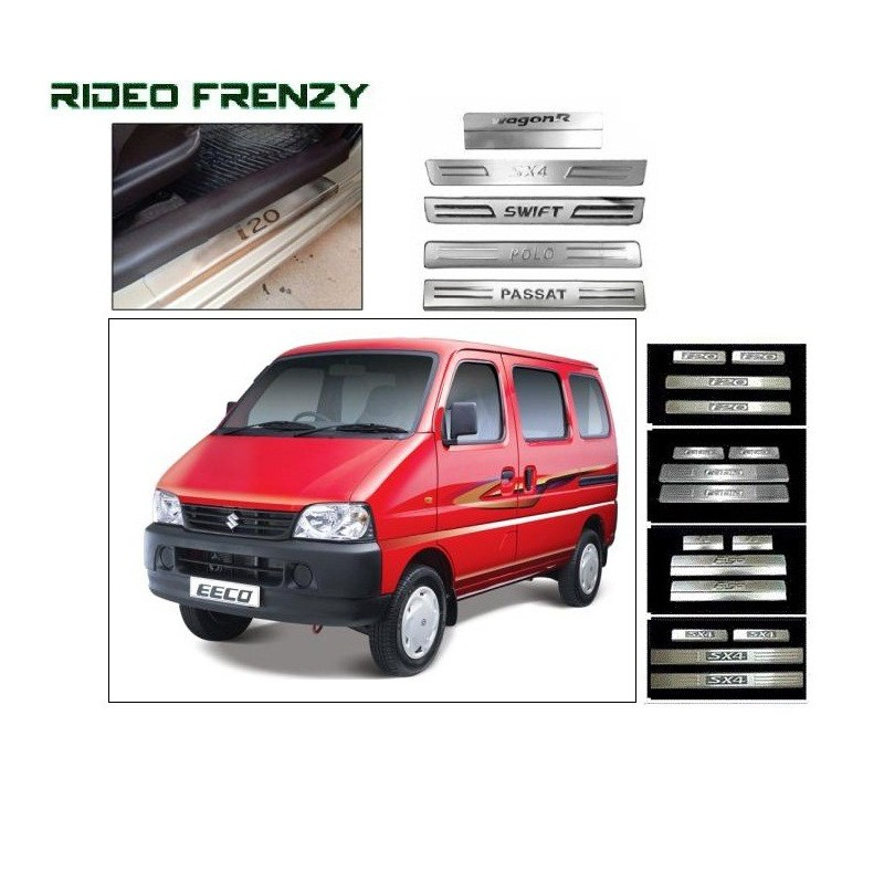 Buy Maruti Eeco Door Stainless Steel Sill Plate online at low prices-RideoFrenzy