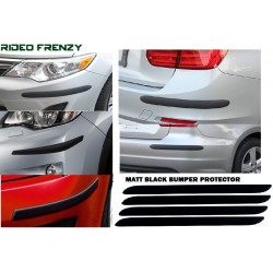 Buy Matt Black Universal Bumper protectors at low prices-RideoFrenzy