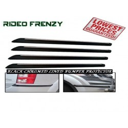 Buy Slim Line Black Chrome Bumper Protectors at low prices-RideoFrenzy