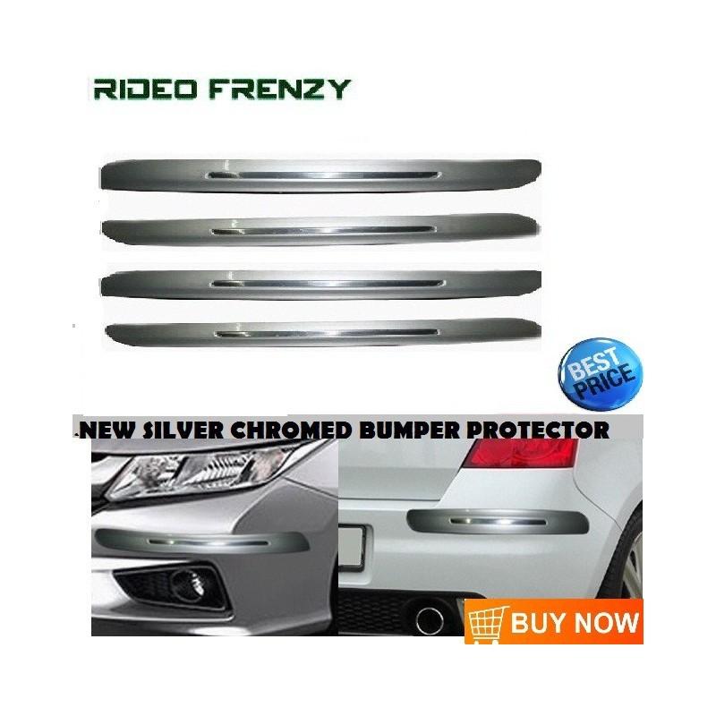 Buy Original SKI Silver Line Bumper Protectors at low prices-RideoFrenzy