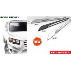Buy STATUS White Chromed Bumper Protectors at low prices-RideoFrenzy