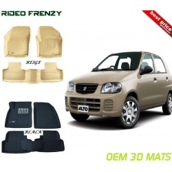 Ultra Light Bucket 4D Floor Mats for Maruti Alto