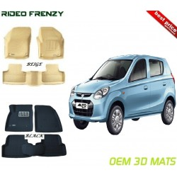 Ultra Light Bucket 4D Floor Mats for Maruti Alto 800
