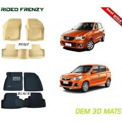 Ultra Light Bucket 4D Floor Mats for Maruti Alto K10 & New Alto K10