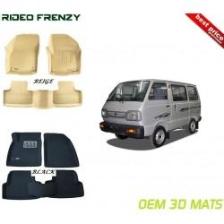 Ultra Light Bucket 3D Floor Mats for Maruti Omni Van