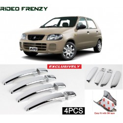 Buy Maruti Alto Door Chrome Catch/Handle Cover online at low prices-RideoFrenzy