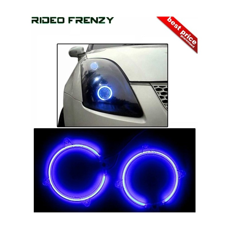 Buy BMW Style Blue Daytime Running Light(DRL) at low prices-RideoFrenzy