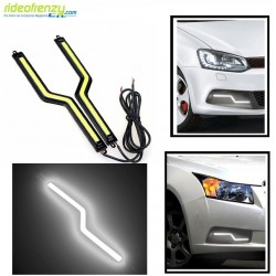Buy White Color Slim Daytime Z Led Daytime Running Light(DRL) at low prices-RideoFrenzy