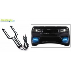 Buy Blue Color Slim Daytime Z Led Daytime Running Light(drl) for All Cars at low prices-RideoFrenzy