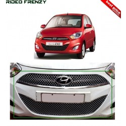 Buy Premium Quality Hyundai i10 Front Chrome Grill Covers at low prices-RideoFrenzy