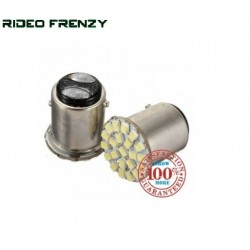 New 22 SMD Car and Bike Turn Indicator White Bulb Set of 2 Piece.