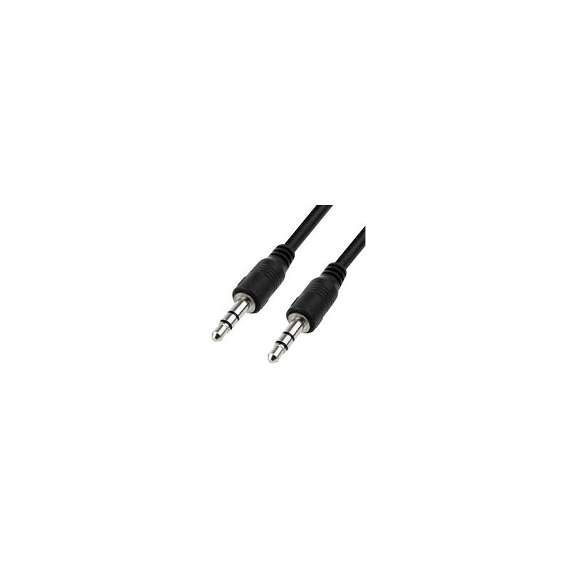Set Of 2 Car Stereo AUX Cable 3.5mm Male to Male
