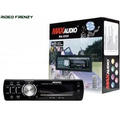 Max Audio MA-2020 Car MP3/FM/USB/SD/MMC/AUX Player