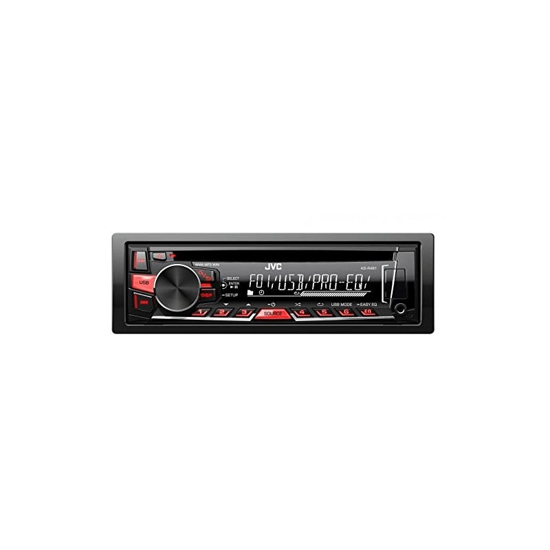 JVC KD-R461 CD/MP3 CAR STEREO WITH USB & AUX