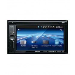 Sony - XAV-612BT - 6 Inch TFT Active Touch Panel Monitor [Double DIN]