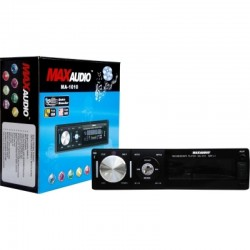 Max Audio MA-1010 Car MP3/FM/USB/SD/MMC/AUX Player