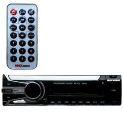 Max Audio MA-3030 Car MP3/FM/USB/SD/MMC Player (Black)