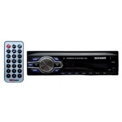 Max Audio MP3/FM/USB/SD/MMC/AUX - MA - 6060 Car Media Player (Single Din)