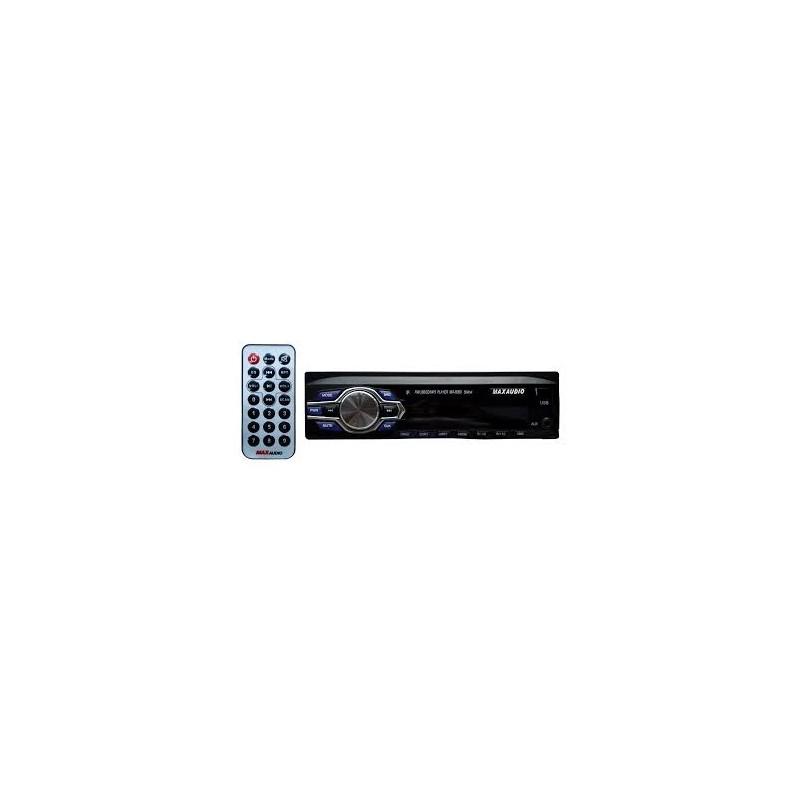 Max Audio MP3/FM/USB/SD/MMC/AUX - MA - 6060 Car Media Player (Single Din)