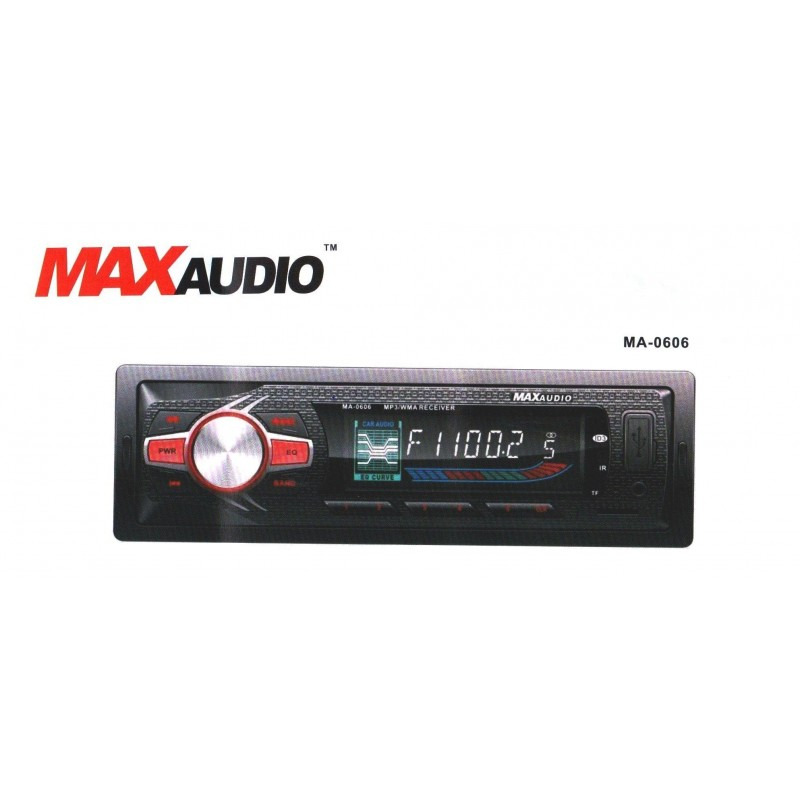 Max Audio MA-0505 - Car MP3/FM/USB/SD/MMC/AUX Player