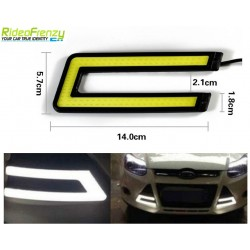 Buy Waterproof White Daytime Running Light DRL at low prices-RideoFrenzy
