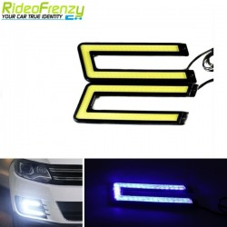 Buy Waterproof Blue Color Daytime Running Light DRL at low prices-RideoFrenzy