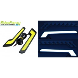 WATERPROOF Blue Daytime Running Light-L Shape