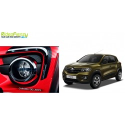 Buy Renault Kwid Chrome Fog Lamp Covers online at low prices-RideoFrenzy