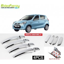 Buy Maruti Alto 800 Door Chrome Catch/Handle Cover at low prices-RideoFrenzy