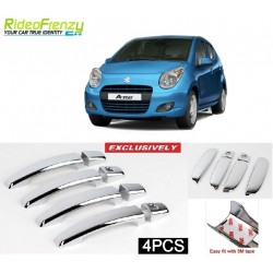 Buy Maruti A Star Door Chrome Handle Covers online at low prices-RideoFrenzy
