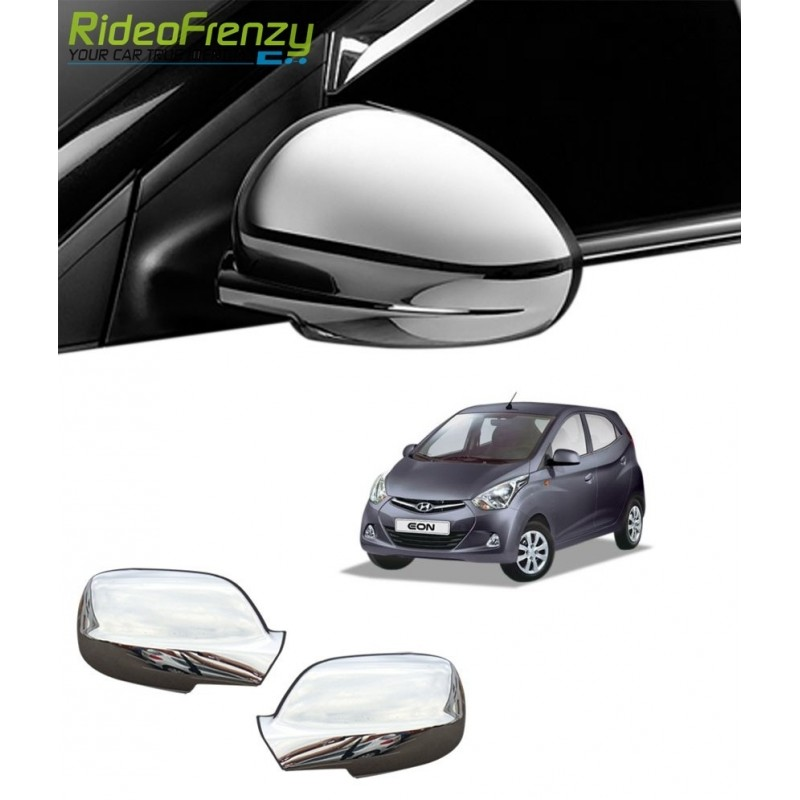 Buy Triple Layered Hyundai Eon Chrome Mirror Covers online at low prices-RideoFrenzy