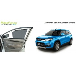 Buy Maruti Vitara Brezza Automatic Side Window Sun Shade at low prices-RideoFrenzy