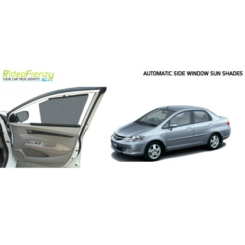Buy Honda City Zx Automatic Side Window Sun Shades online at low prices-Rideofrenzy