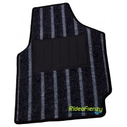 Premium Black Feel Carpet Floor Mats
