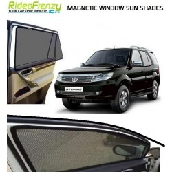 Buy Tata Safari Storme Magnetic Car Window Sunshades online at low prices-RideoFrenzy