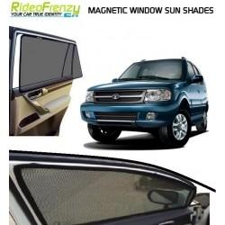 Magnetic Car Window Sunshade for Tata Safari Dicor