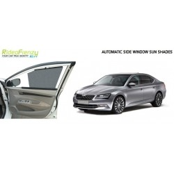 Automatic Side Window Sun Shade for Skoda Superb