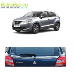 Buy Maruti Baleno Original Chrome Dickey Garnish-Triple Layered Chrome Plating at low prices-RideoFrenzy