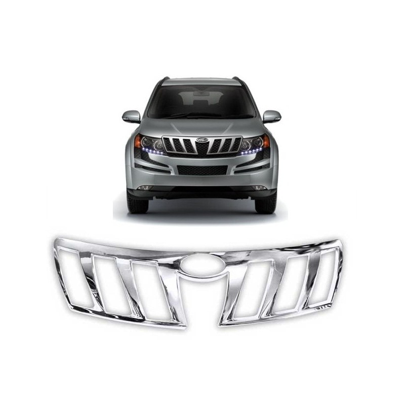 Buy Mahindra XUV500 Front Chrome Grill Covers at low prices-RideoFrenzy