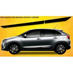 Original Chrome Inserted Maruti Baleno Side Beading