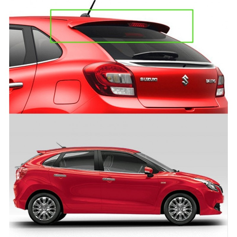 Original OEM Body Colored Car Spoiler For Maruti New Baleno