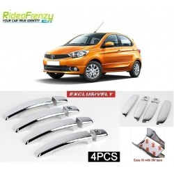 Door Chrome Catch/Handle Cover for Tata Zest/Bolt