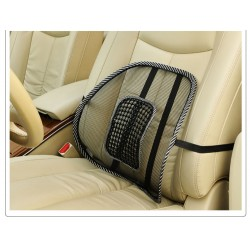 Car Seat Back Rest/Support Mesh Pad