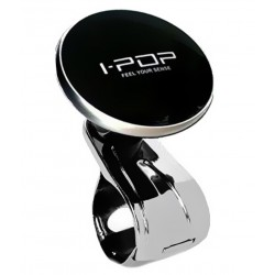 Original IPOP Power Steering Knob Black-Silver