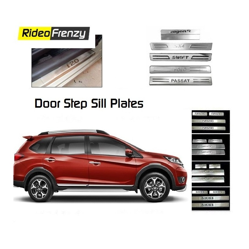 Door Stainless Steel Sill Plate for Honda Mobilio