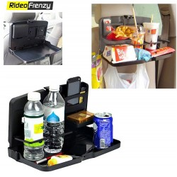 Premium Universal Black Car Meal Tray