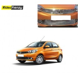 Buy Super Glossy Tata Tiago Bentley Chrome Grill at low prices-RideoFrenzy